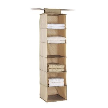 closet storage hanging shelves