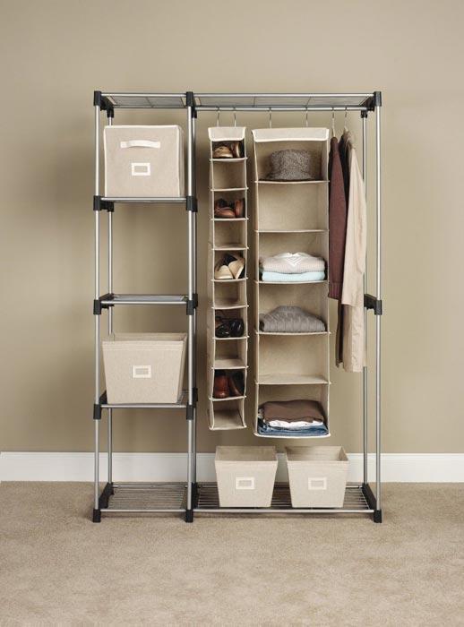 closet storage rods