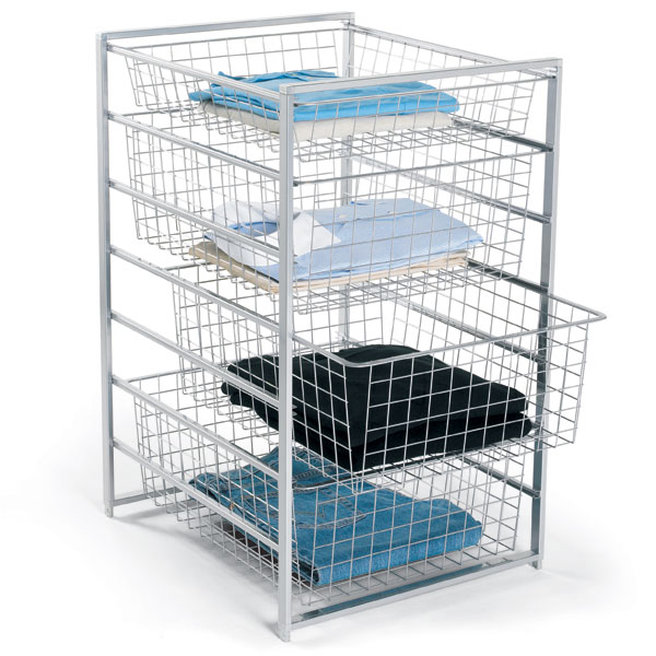closet wire drawer systems