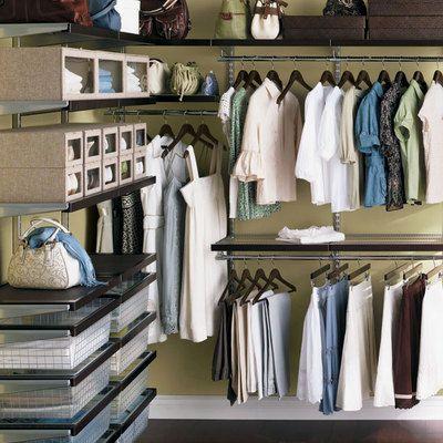 container store closet design
