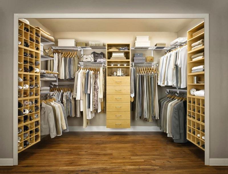 custom bedroom closet ideas