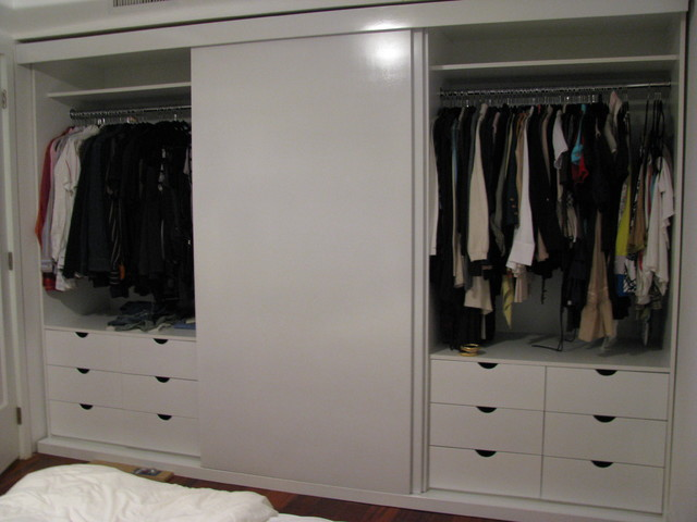 custom sliding doors for closet