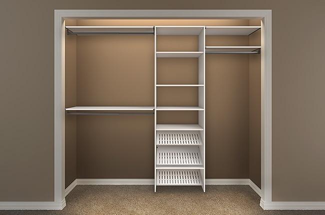 design a closet with closetmaid