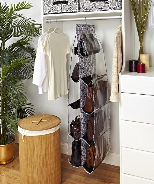 diy purse organizer for closet