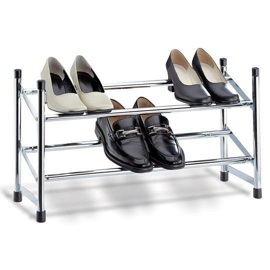 expandable shoe racks for closets