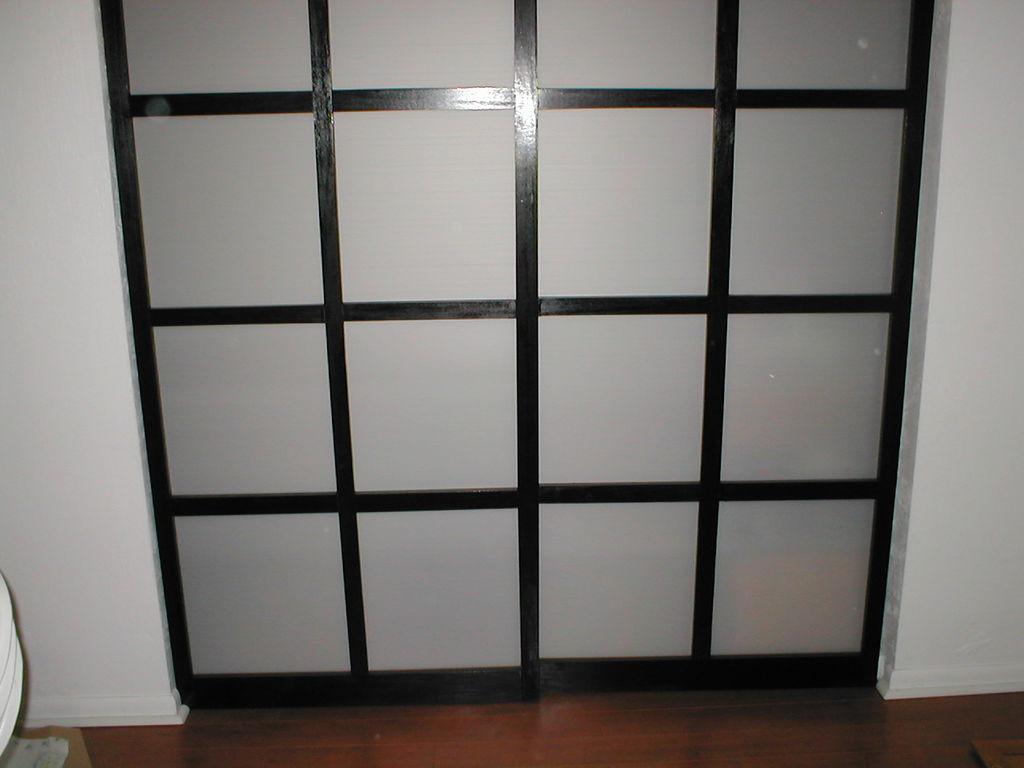 how to build small closet doors
