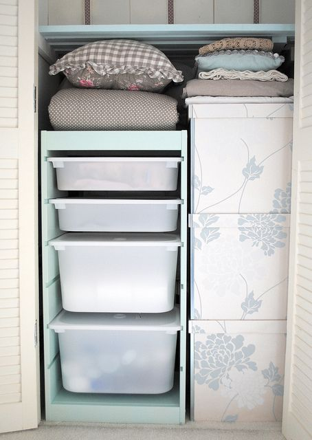 ikea closet with drawers