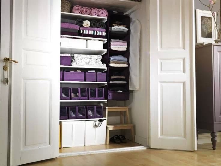 linen closet organizers