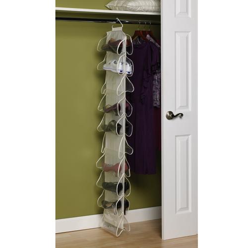 shoe hanging racks for the closet