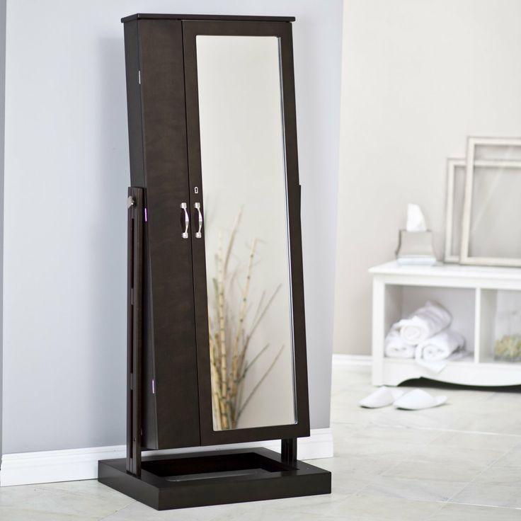 cheval mirror jewelry armoire ikea