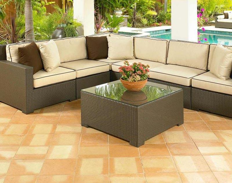 Cheap Rattan Corner Garden Furniture