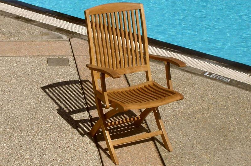 Folding Garden Chairs With Arms