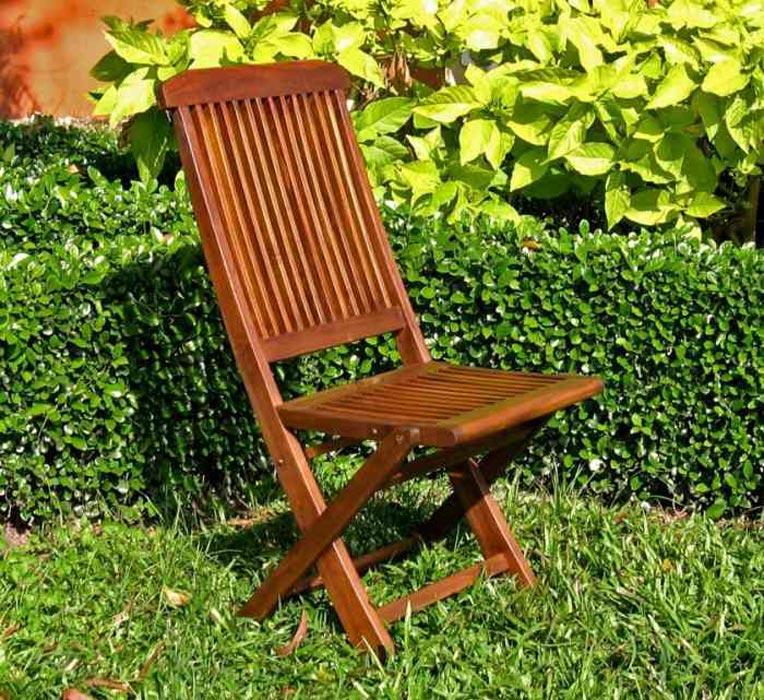 Folding Garden Chairs Wooden