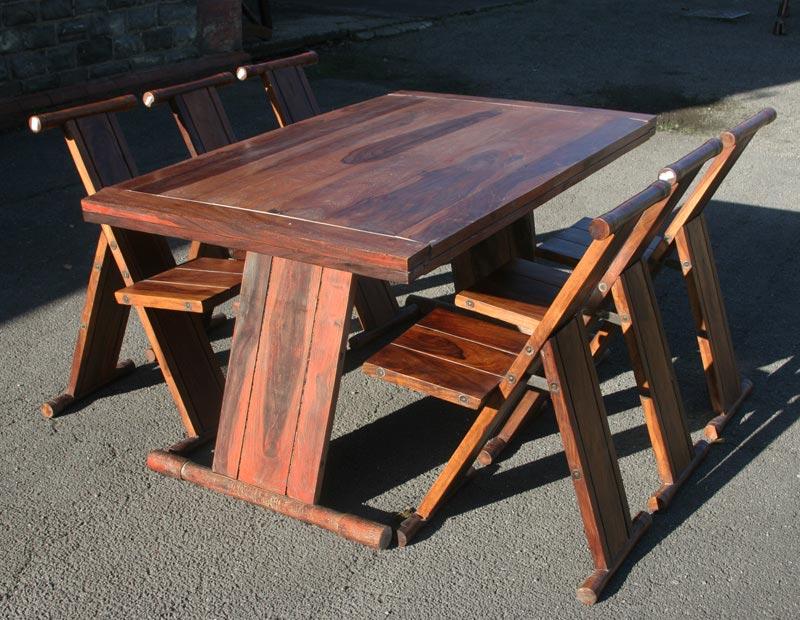 Folding Garden Dining Table