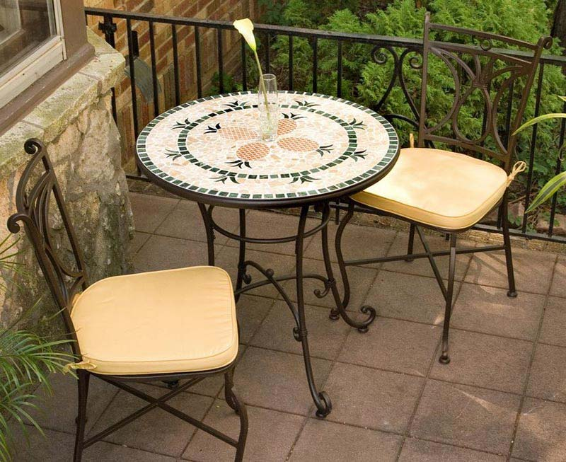 French Style Metal Garden Furniture Sets