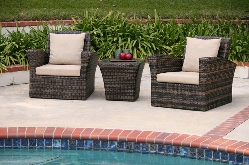 Poly Rattan Garden Furniture Sets
