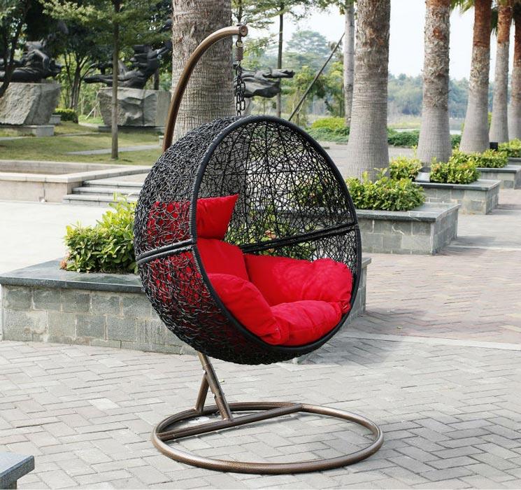 Rattan Garden Furniture Egg