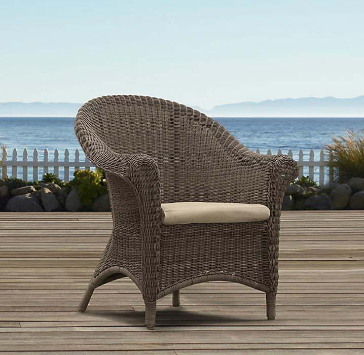 Rattan Garden Tub Chairs
