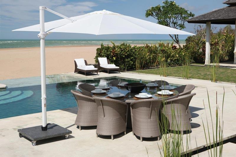 Round Rattan Garden Furniture Sets