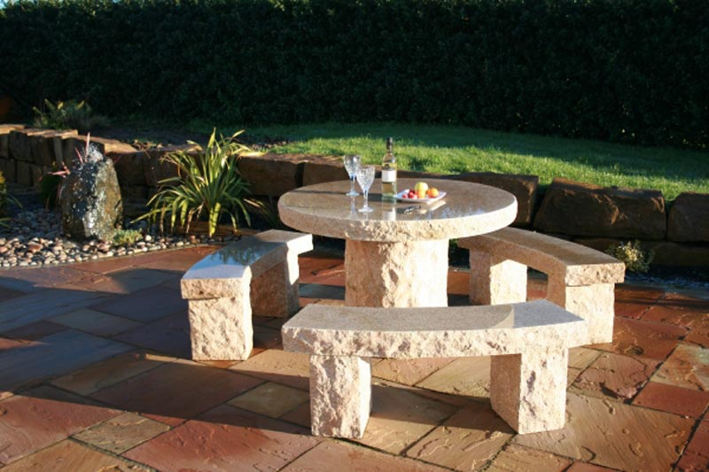 Stone Garden Furniture Edinburgh