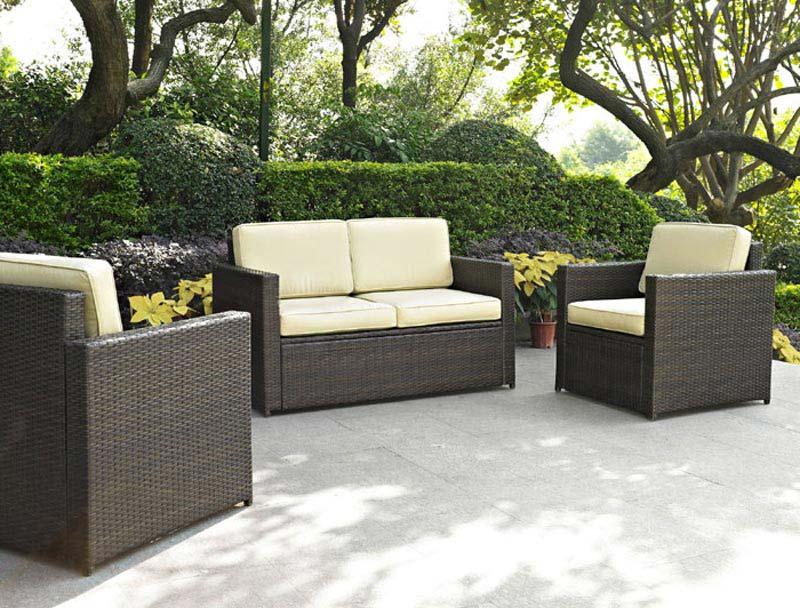 3 Piece Outdoor Wicker Furniture