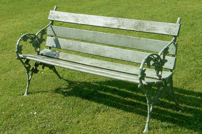 Antique Cast Iron Garden Furniture For Sale