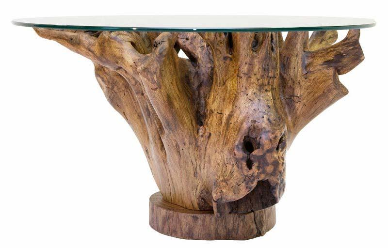 Coffee Table Tree Stump