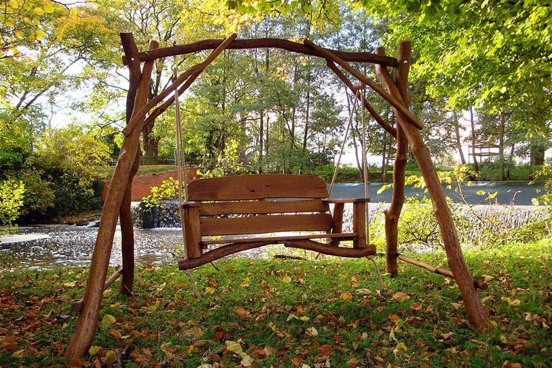 Garden Benches And Swings