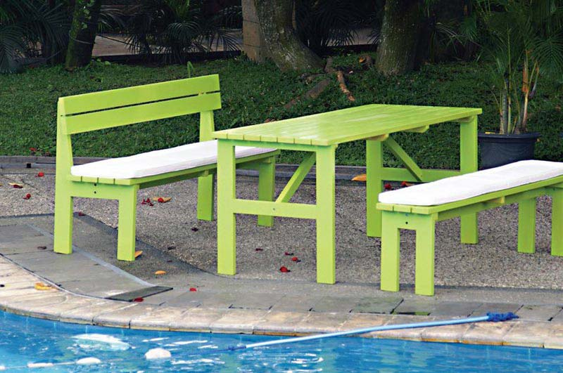Garden Benches And Tables