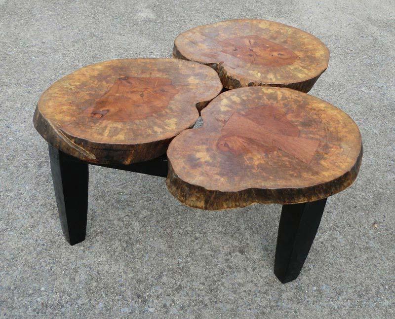 Large Tree Stump Coffee Table