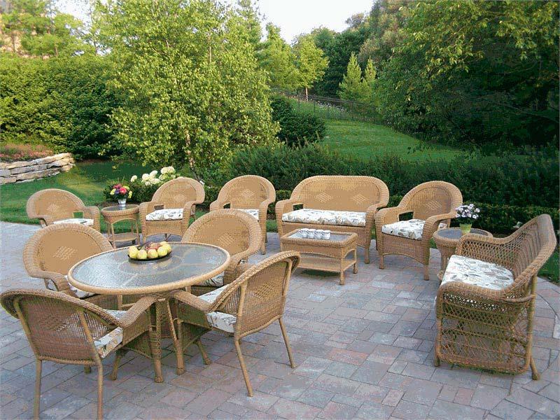 Wicker Garden Furniture Ebay