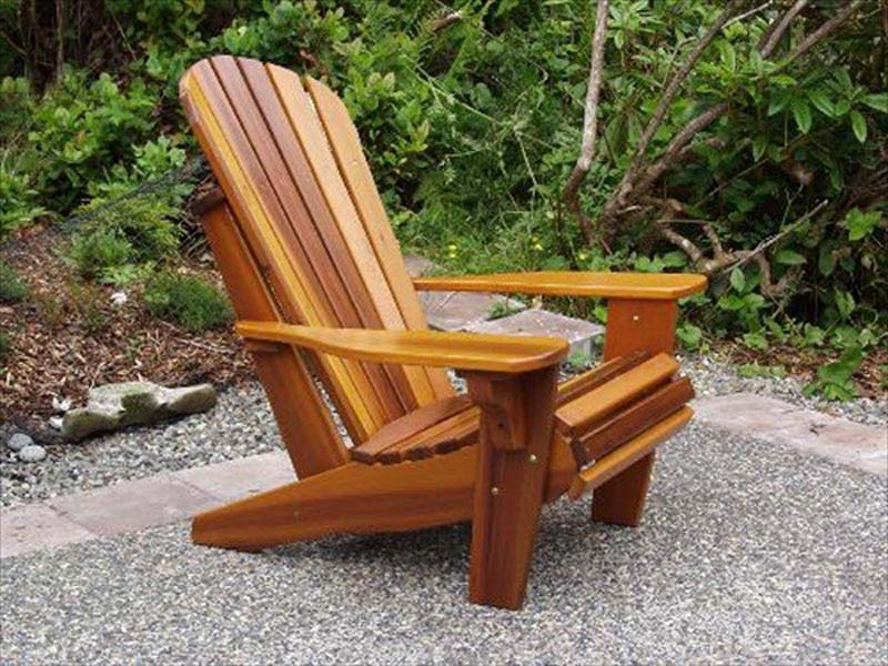 Wooden Garden Chairs Plans