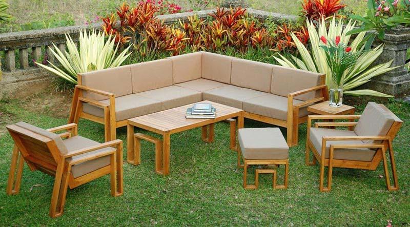 Wooden Patio Furniture Designs