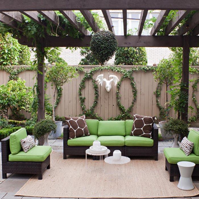 Contemporary Patio Furniture Houston