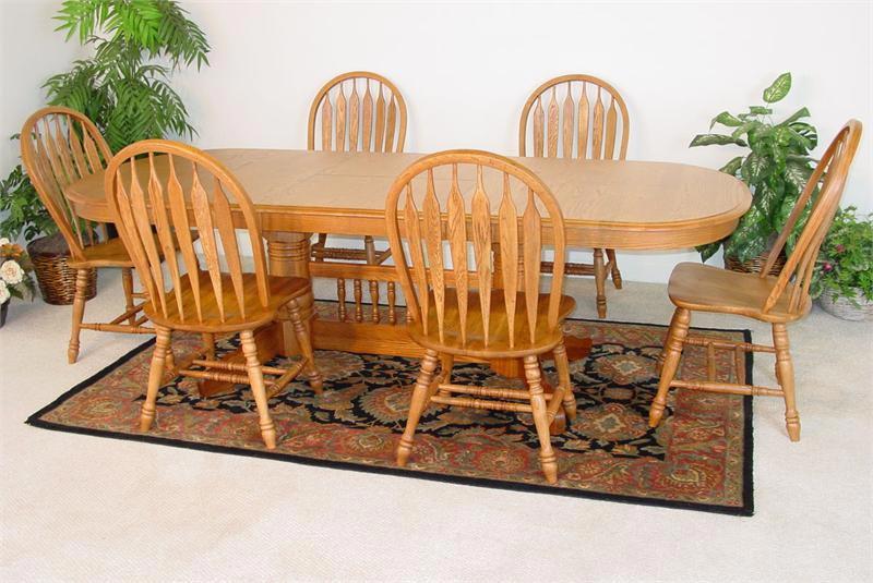 Golden Oak Dining Chairs