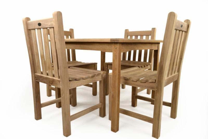 4 Seater Wooden Garden Furniture