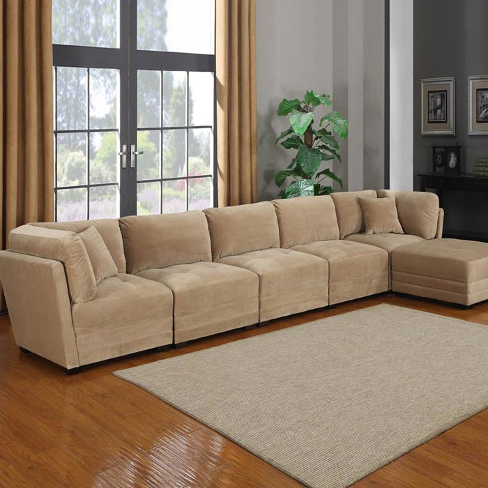 6 Piece Sectional Sofa