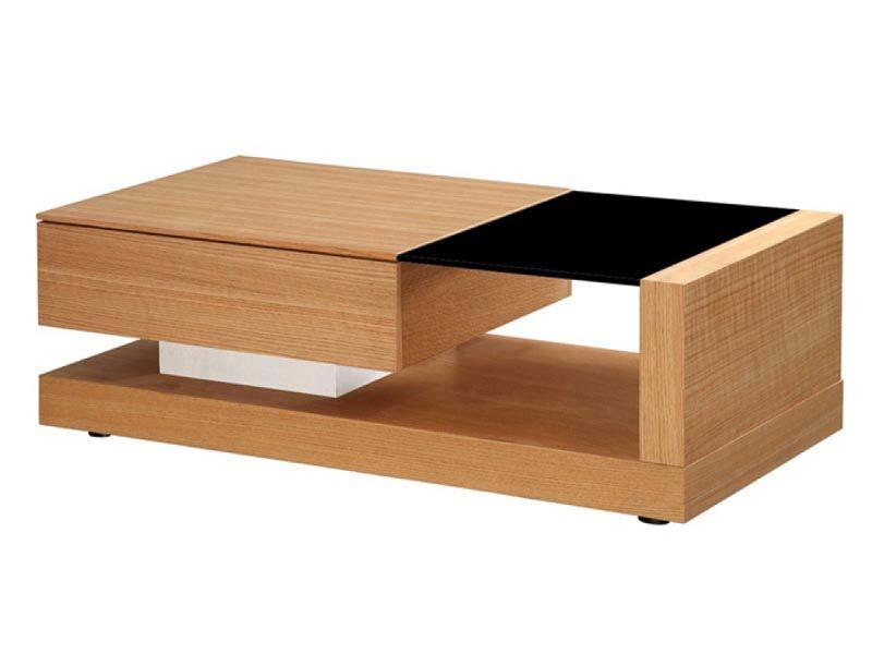Black Cube Coffee Table