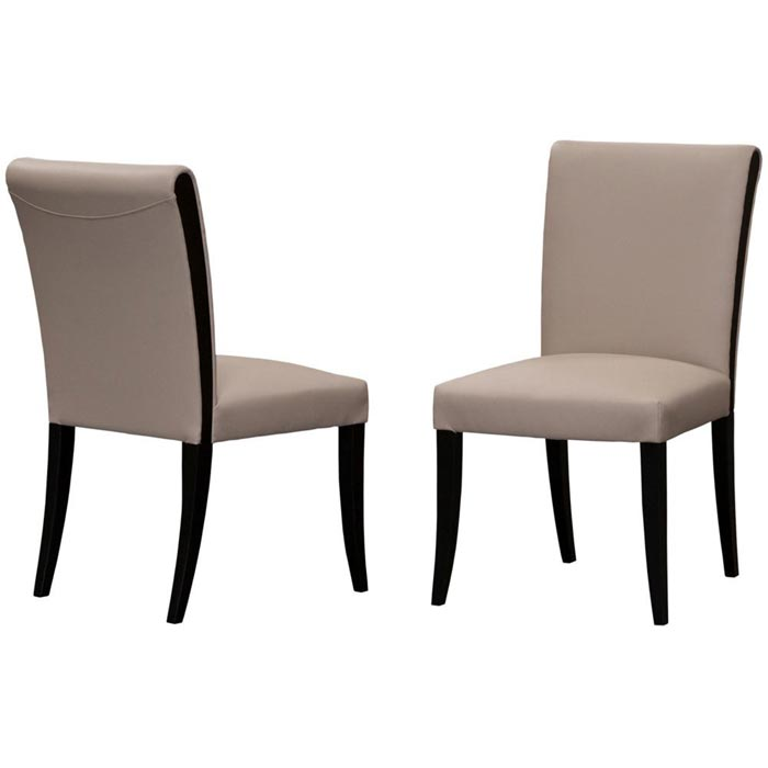 Bonded Leather Dining Room Chairs