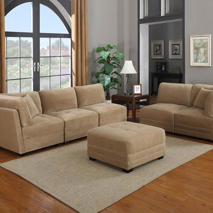 Canby 6 Piece Modular Sectional Sofa