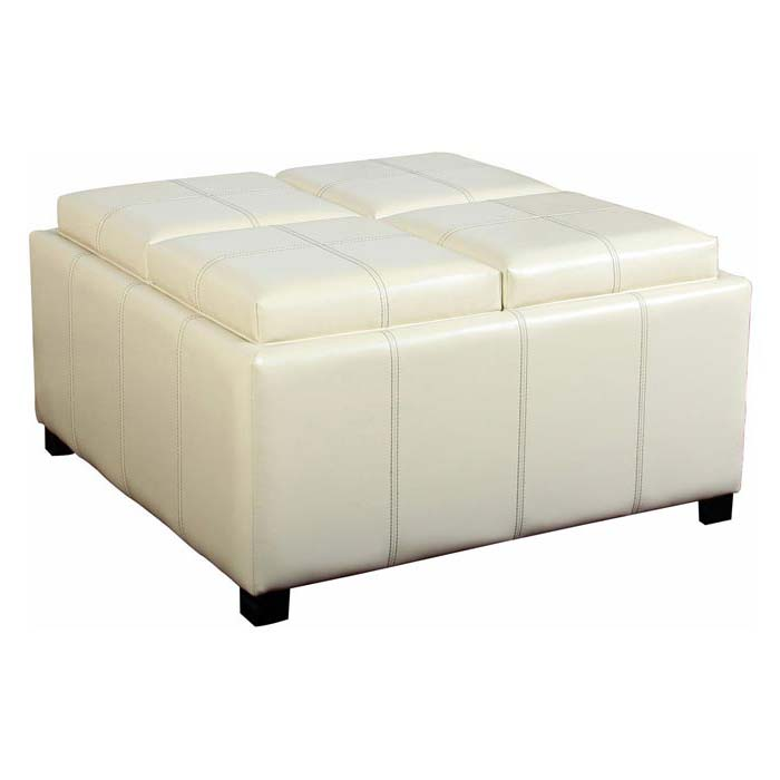 Coffee Table 4 Cube Ottomans