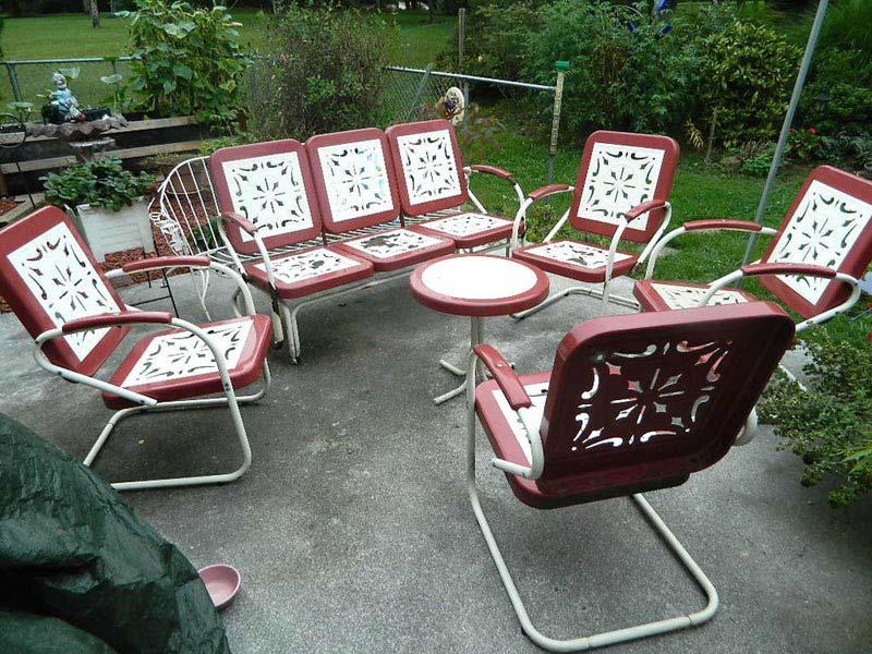 Ebay Metal Garden Furniture