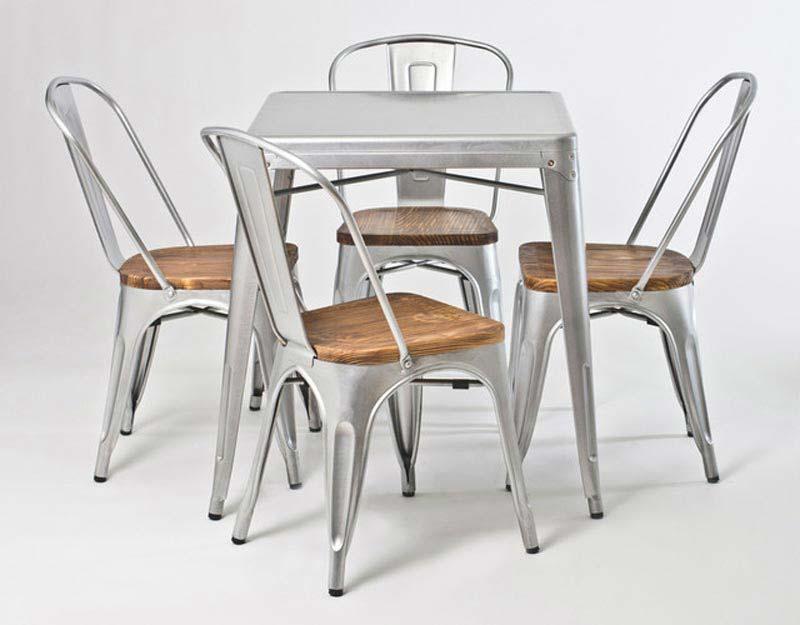 Galvanised Metal Garden Furniture
