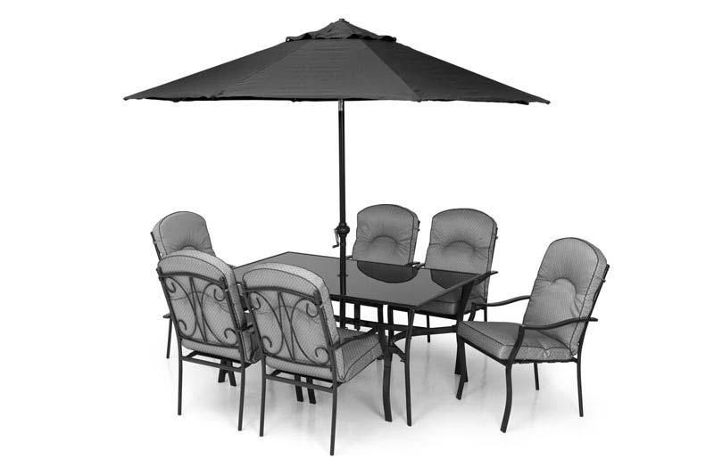 Grey Metal Garden Furniture
