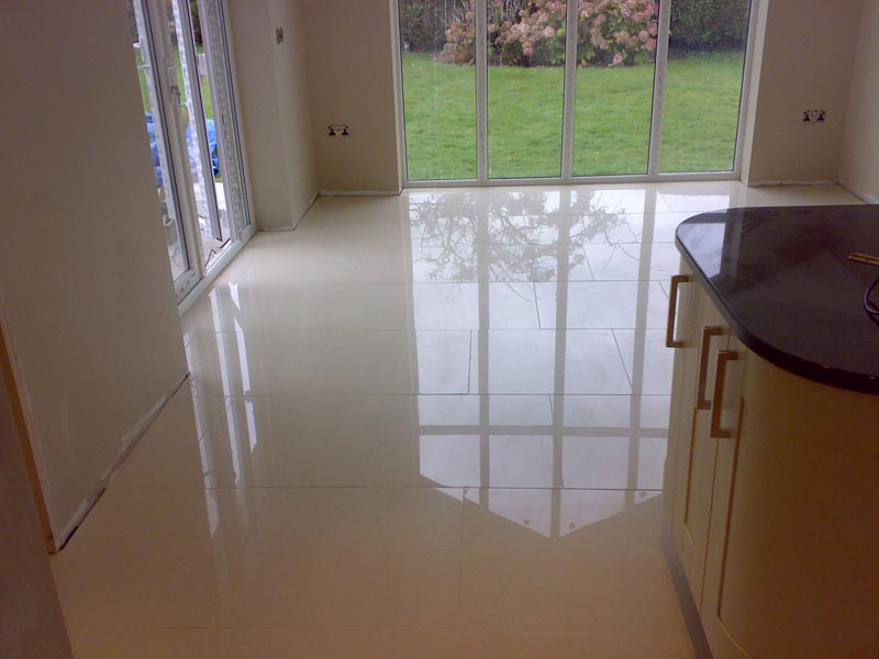 Polished Porcelain Floor Tiles Slippery