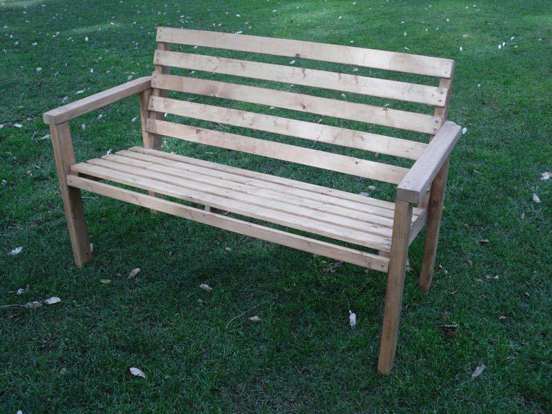 Wooden Garden Bench Kits