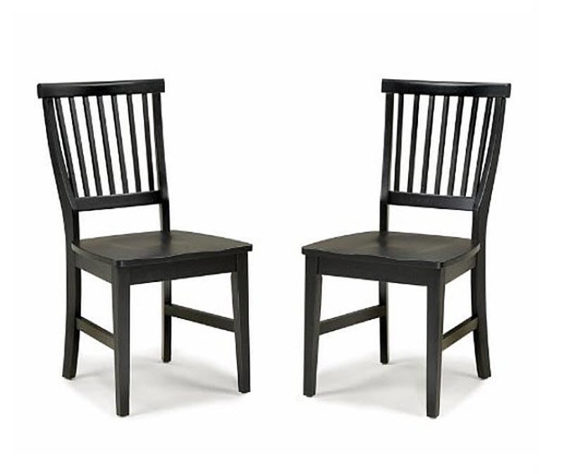 Dark Wood Dining Chairs