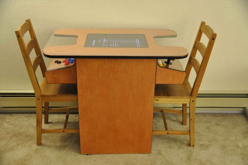 arcade coffee table diy