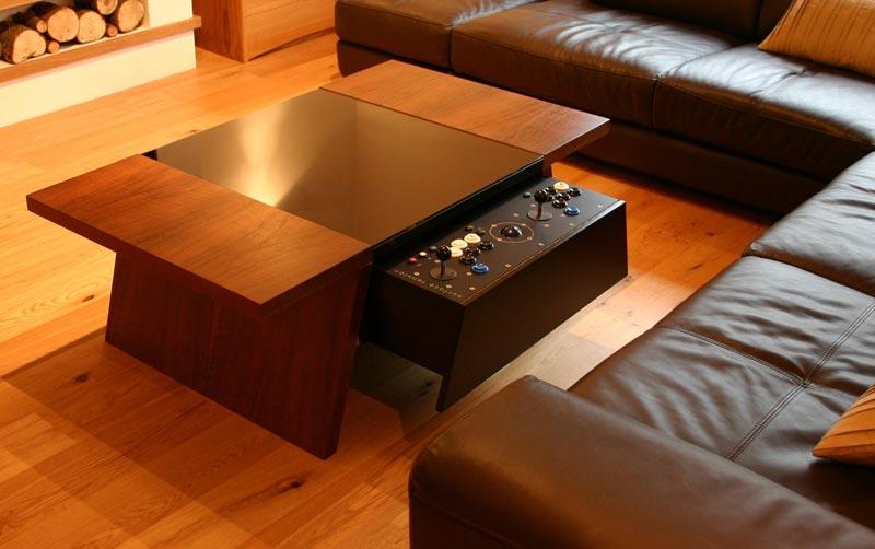 arcade coffee table uk