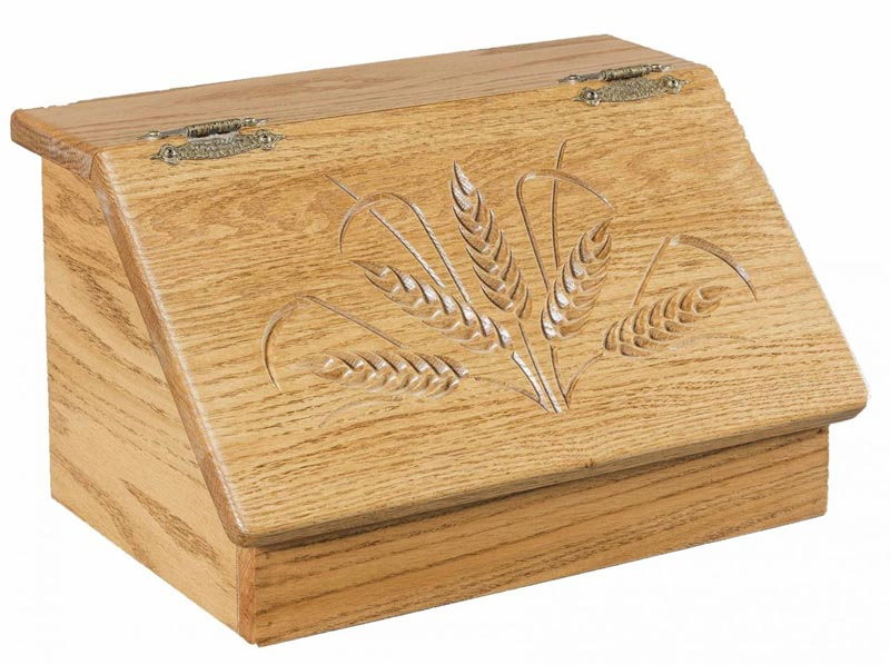 carved bread box